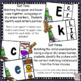 Alphabet Letter & Initial Sound Matching and Clip Activities - winter themed