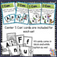 Alphabet Initial Sound & Letter Matching and Clip Activities - winter themed