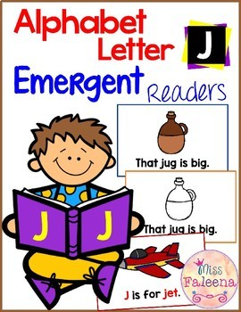 Alphabet Letter J Emergent Readers