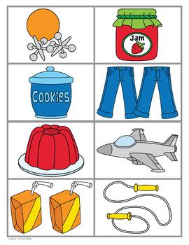 Alphabet Letter J Emergent Readers Set