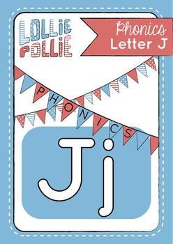 Alphabet Letter J Pack