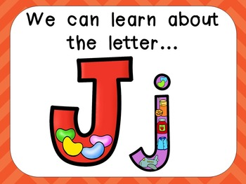 Alphabet Letter Jj PowerPoint Presentation- Letter ID, Sounds, and Handwriting