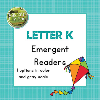 Alphabet Letter K Emergent Readers Set