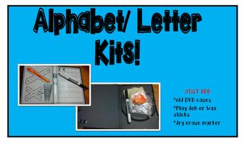 Alphabet/Letter Kits