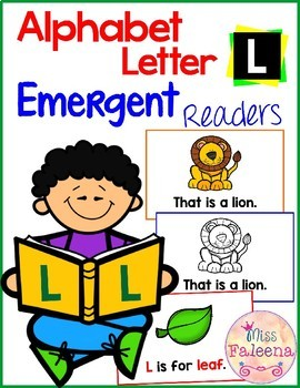 Alphabet Letter L Emergent Readers