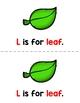 Alphabet Letter L Emergent Readers