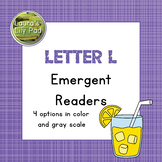 Alphabet Letter L Emergent Readers Set