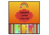 Alphabet Letter Lace-ups