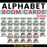 Alphabet Letter Learn & Practice Growing Bundle   Boom Cards™