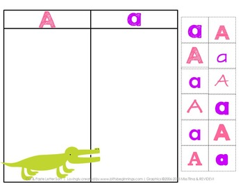 Phonics Letter of the Week Letter A Learning Pack