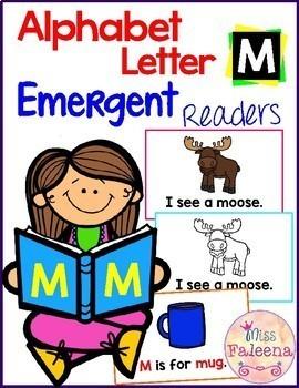 Alphabet Letter M Emergent Readers
