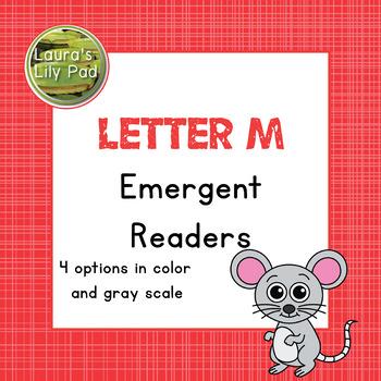 Alphabet Letter M Emergent Readers Set