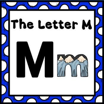 Alphabet -- Letter M SMARTboard Activities (Smart Board)