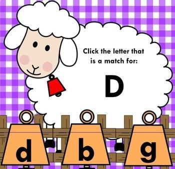 Alphabet Letter Match