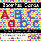 Alphabet Letter Match {Boom Cards}