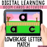 Alphabet Letter Match: Digital Task Cards with BOOM CARDS™