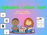 Alphabet Letter Match Sort