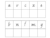 Alphabet Letter Match (Vic Font)