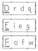 Alphabet Letter Matching {Dollar Deal}