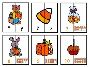 Letter Matching -Fall
