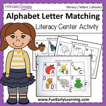 Alphabet Letter Matching {Common Core & RTI}