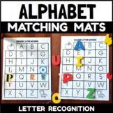 Alphabet Letter Matching Mats