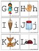 Alphabet Letter Matching Puzzels