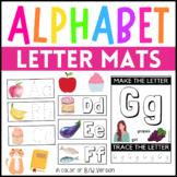 Alphabet Letter Mats - Fine Motor