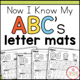 Alphabet Letter Mats {Now I Know My ABC's Series}