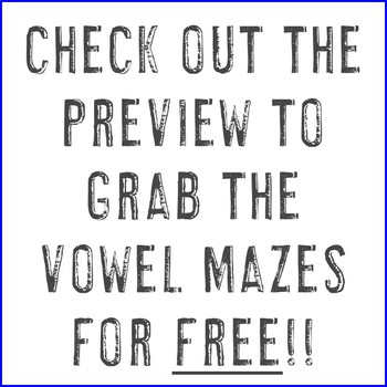 Letter Mazes | Use for Letter Recognition, Centers, or Alphabet Worksheets A-Z