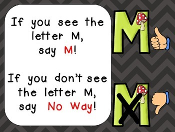 Alphabet Letter Mm PowerPoint Presentation- Letter ID, Sounds, and Handwriting