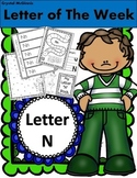 Alphabet Letter N! (10 Letter Recognition/Sound Activites) for the Letter N.