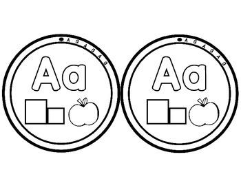 Alphabet Letter Necklaces