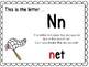 Alphabet Letter Nn Interactive Power Point. Kindergarten