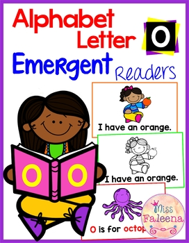 Alphabet Letter O Emergent Readers