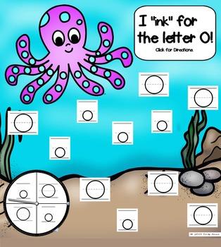 Alphabet -- Letter O SMARTboard Activities (Smart Board)
