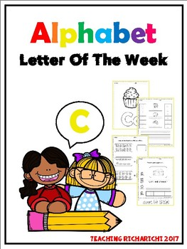 Alphabet Letter Of The Week (C)