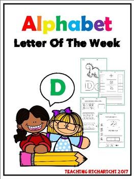Alphabet Letter Of The Week (D)
