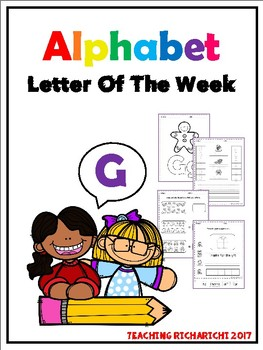 Alphabet Letter Of The Week (G)