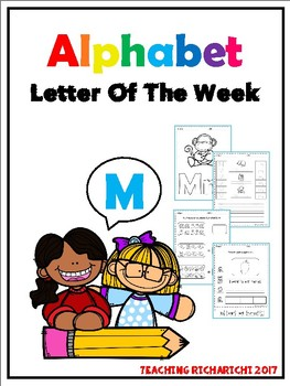 Alphabet Letter Of The Week (M)