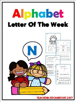 Alphabet Letter Of The Week (N)