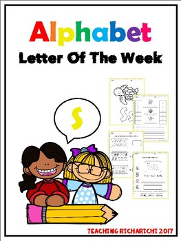 Alphabet Letter Of The Week (S)