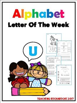 Alphabet Letter Of The Week (U)