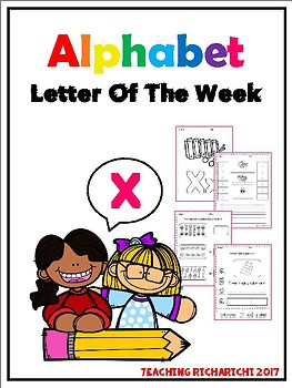 Alphabet Letter Of The Week (X)