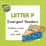 Alphabet Letter P Emergent Readers Set