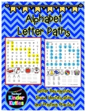 Alphabet Letter Paths: Letter Recognition, Letter Identifi
