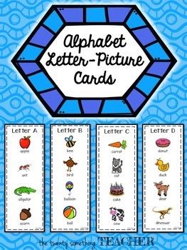 Alphabet Letter-Picture Cards