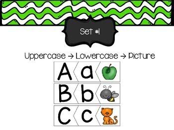 Letter Sounds: Letter - Sound Matching Cards Bundle