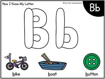 Alphabet Letter & Picture Playdough Mats