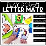 Alphabet Activities | Letter Play Dough Mats | Fine Motor